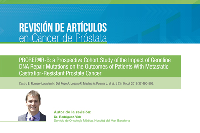PROREPAIR-B: a Prospective Cohort Study of the Impact of Germline DNA Repair Mutations on the Outcomes of Patients With Metastatic Castration-Resistant Prostate Cancer