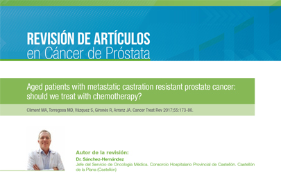 Aged patients with metastatic castration resistant prostate cancer: should we treat with chemotherapy?